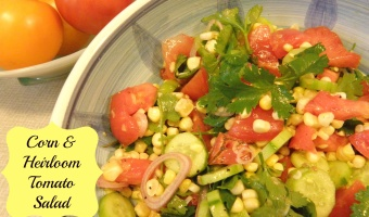 Corn & Heirloom Tomato Salad