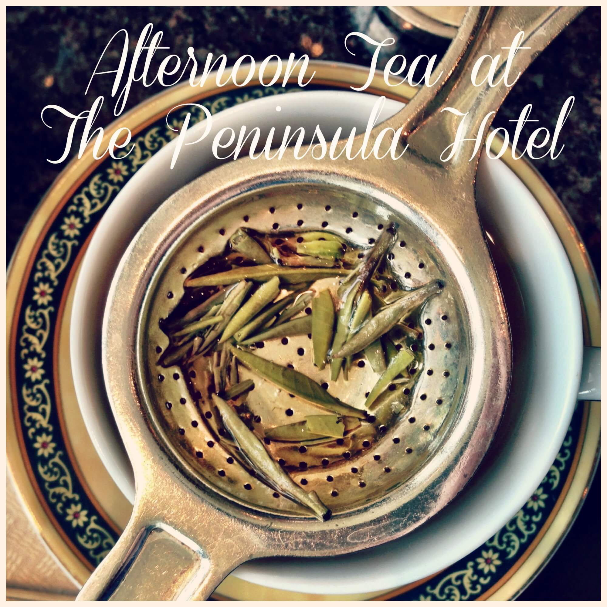 Tea at the Peninsula Hotel: Chicago