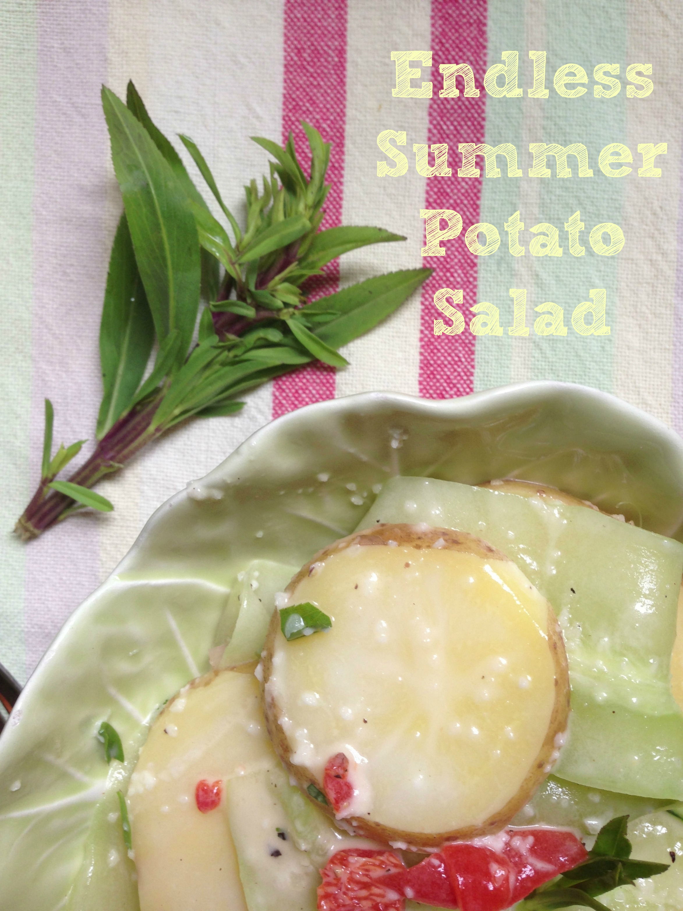 endless summer potato salad