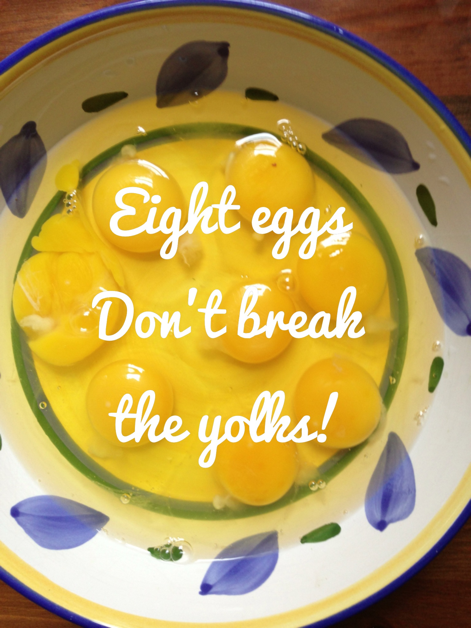 the fiery redhead blog don't break the yolks