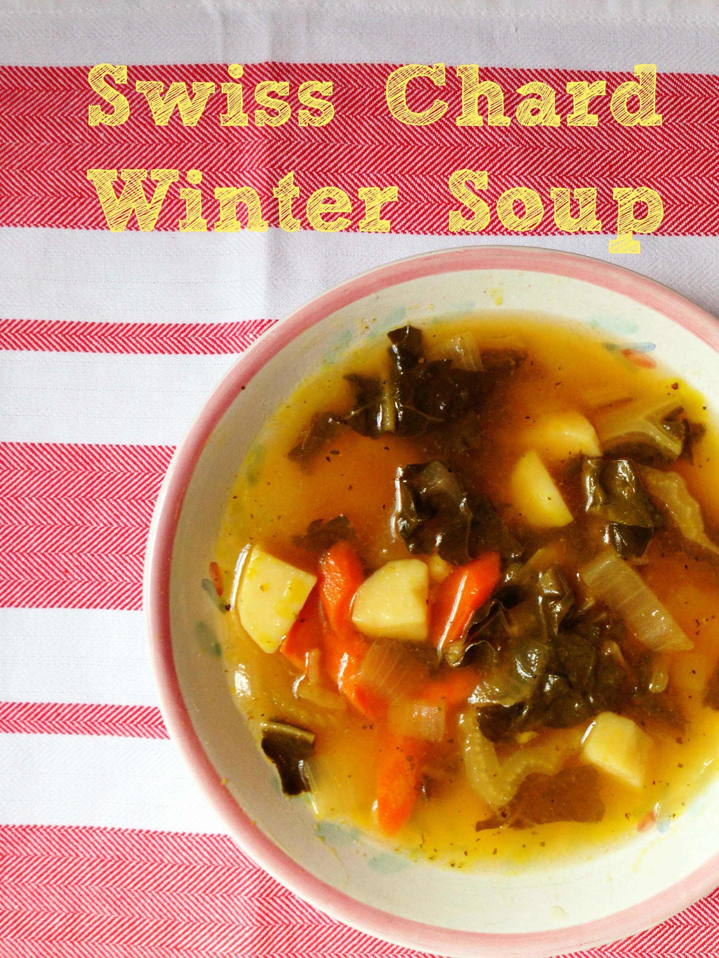 swiss chard winter soup
