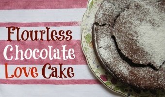 Flourless Chocolate Love Cake