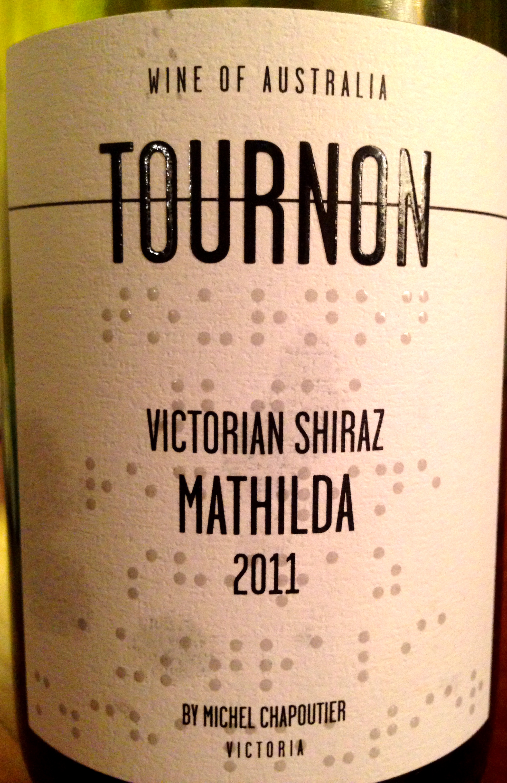 tournon matilda shiraz