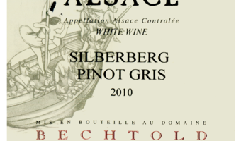 Wine Wednesday: Bechtold Silberberg Pinot Gris