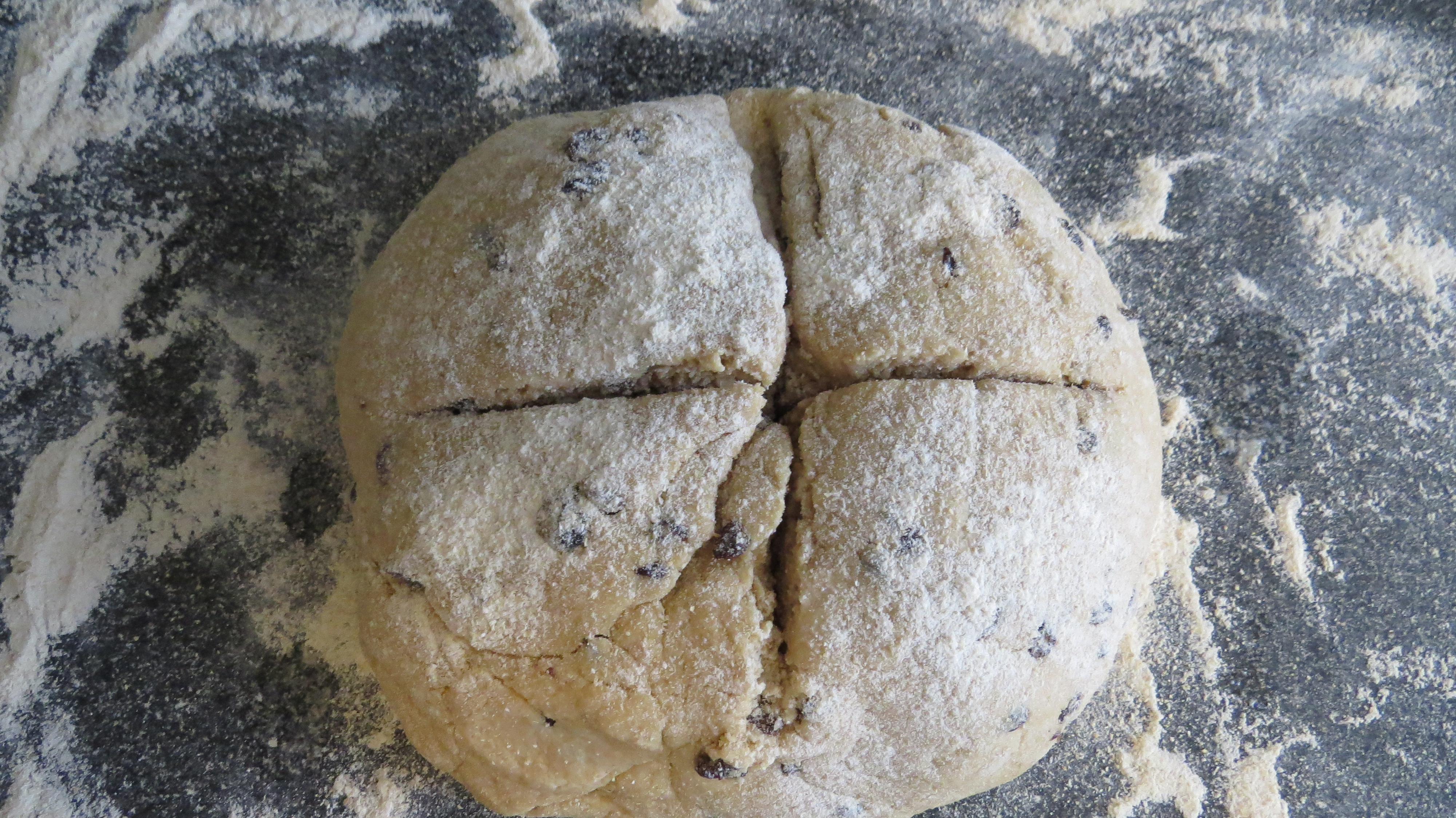 irish soda bread cross