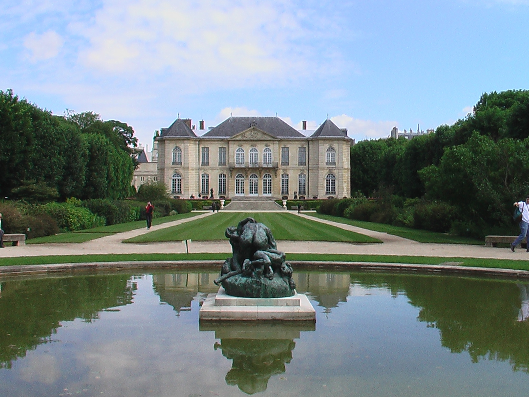 Paris, Musée Rodin, long view