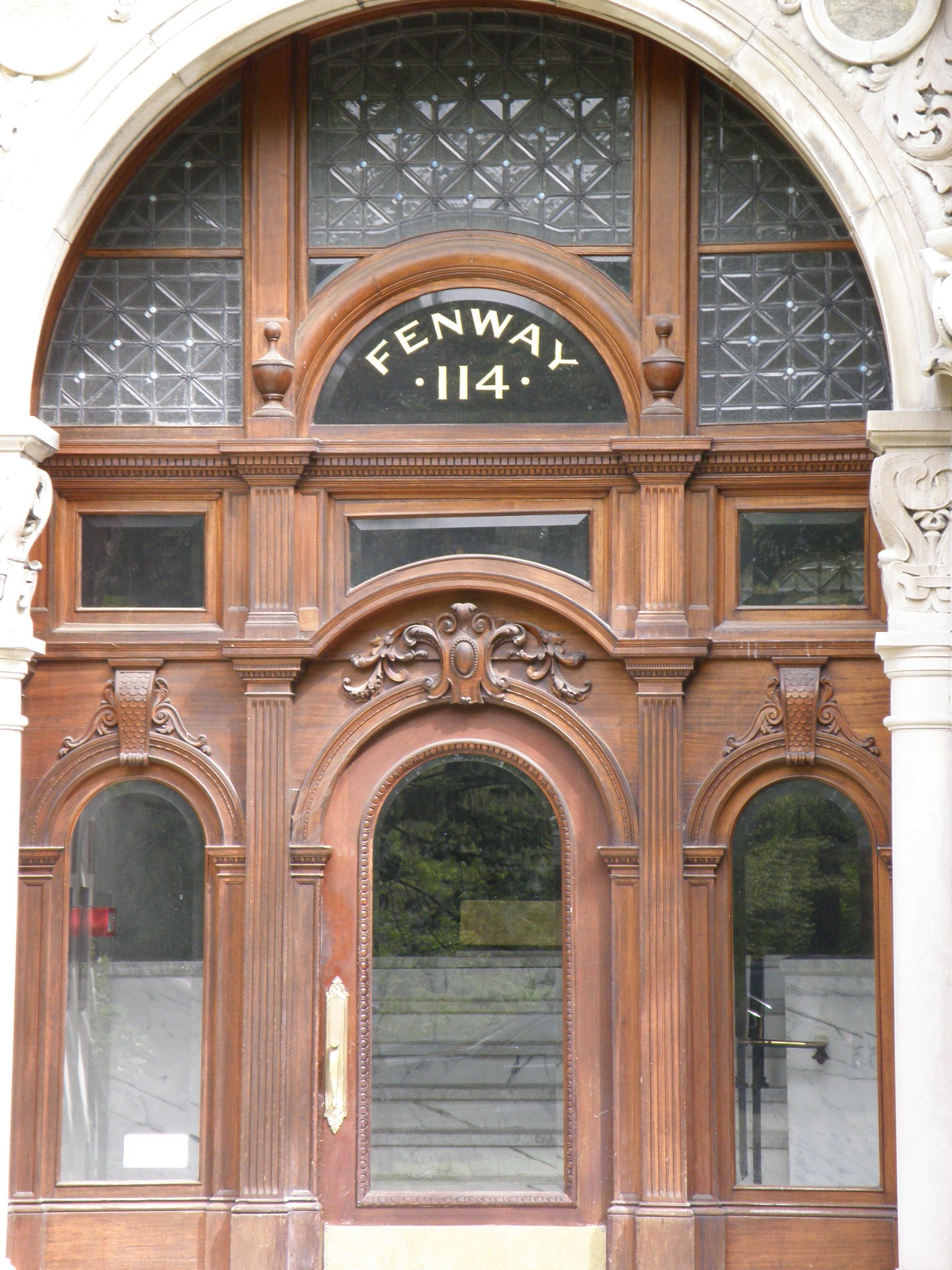 Back Bay Fens Fenway door