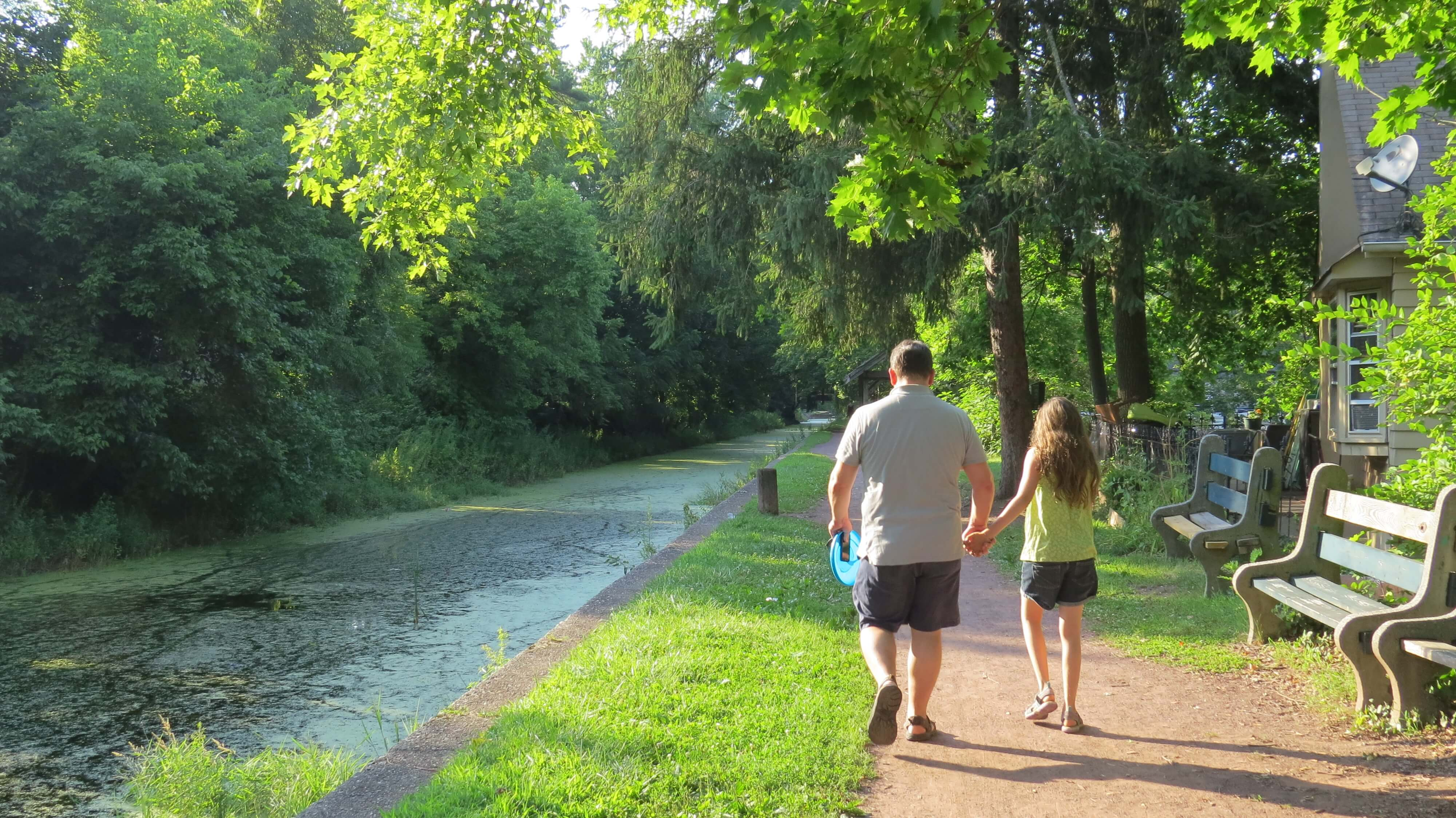delaware canal tow path 2