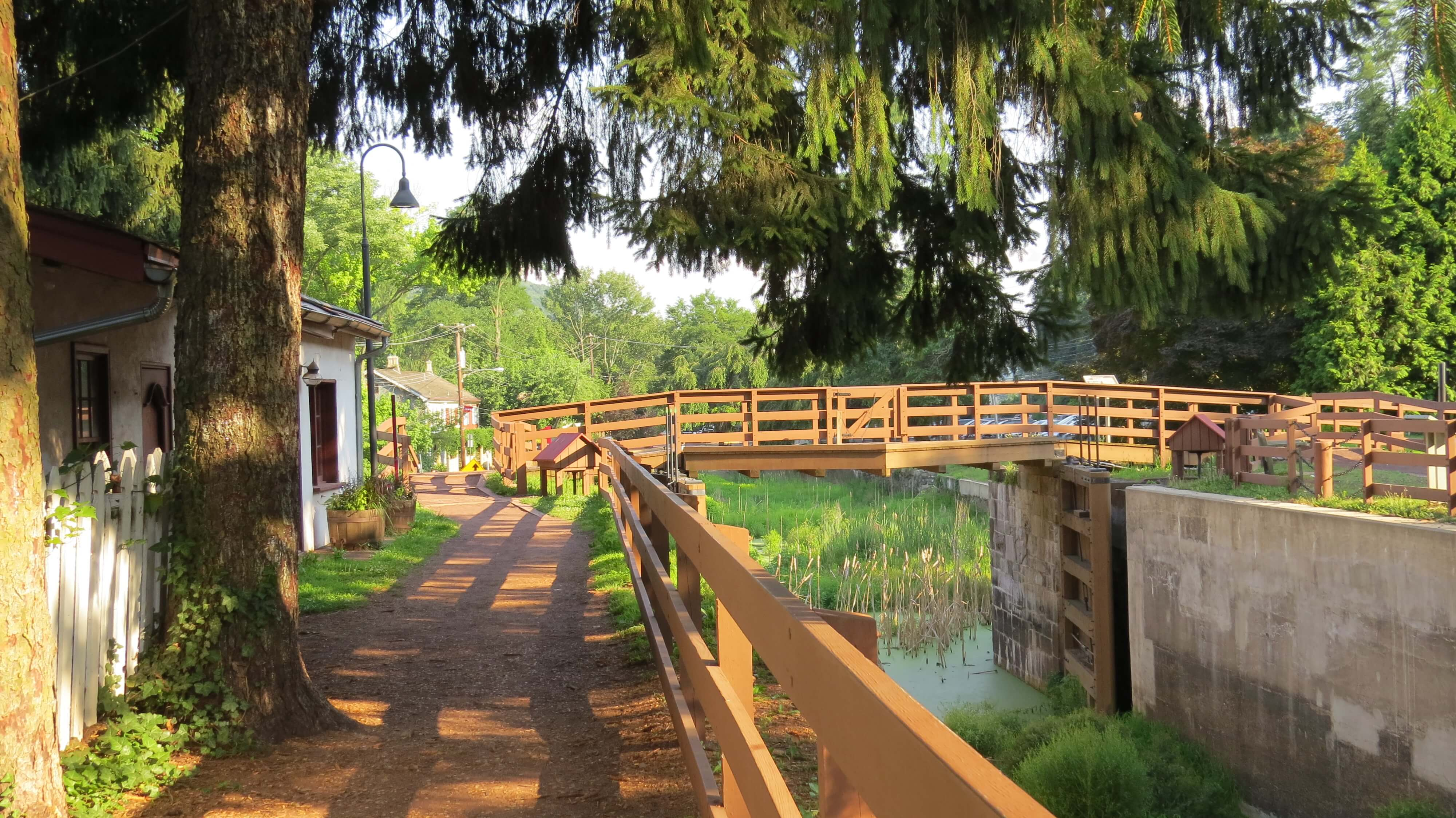 delaware canal tow path