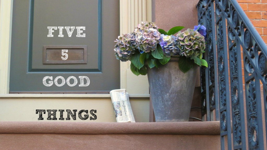 five good things good news