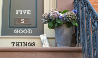 Five Good Things: November 6