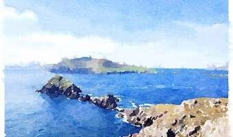 Watercolored Memories of Ireland