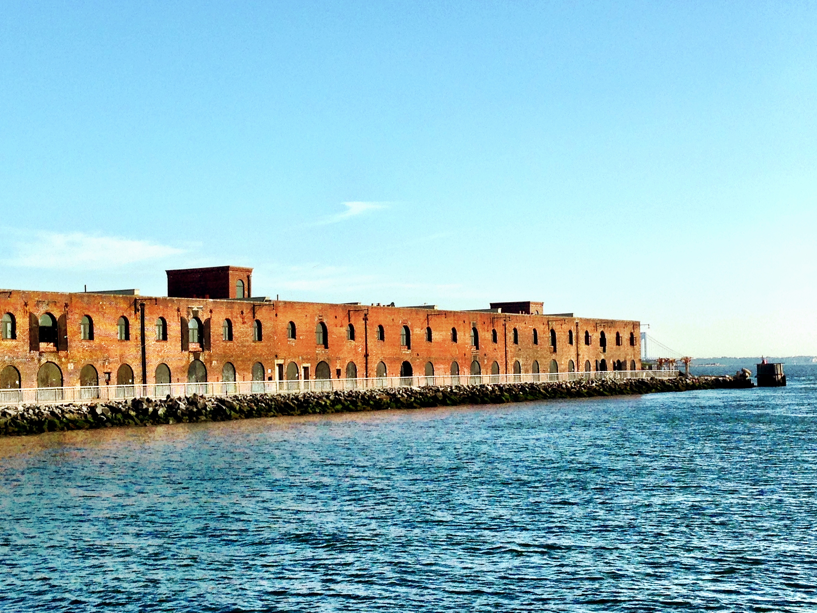 warehouse pier red hook brooklyn