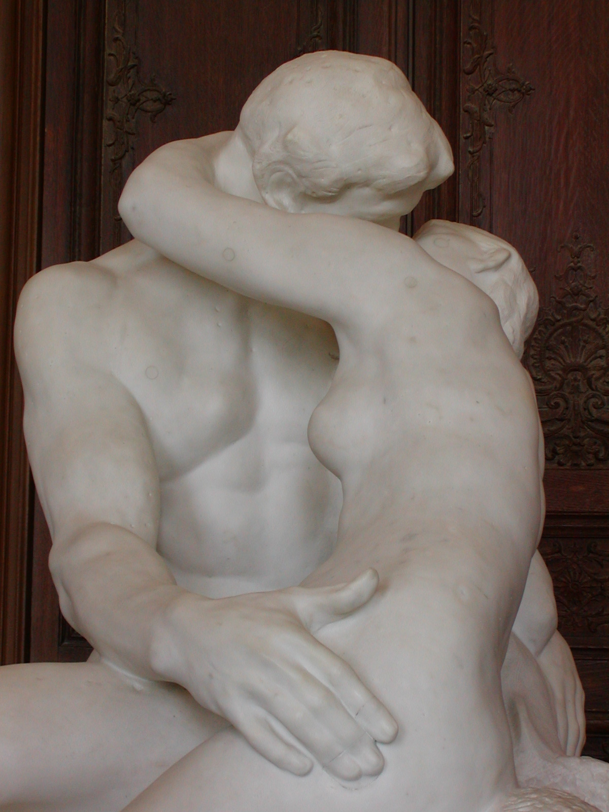 Paris, Musee Rodin, The Kiss