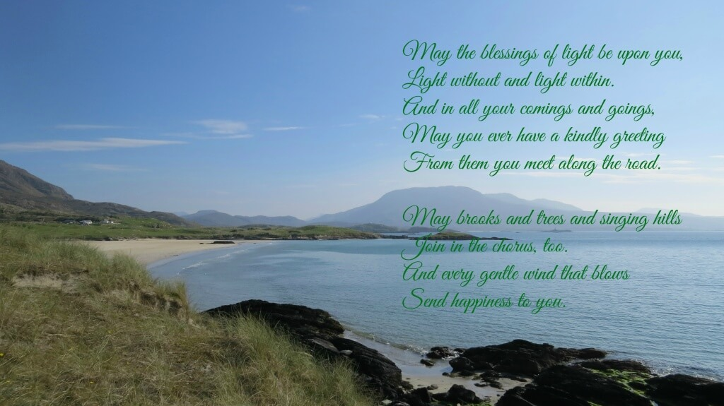 irish blessing 2016