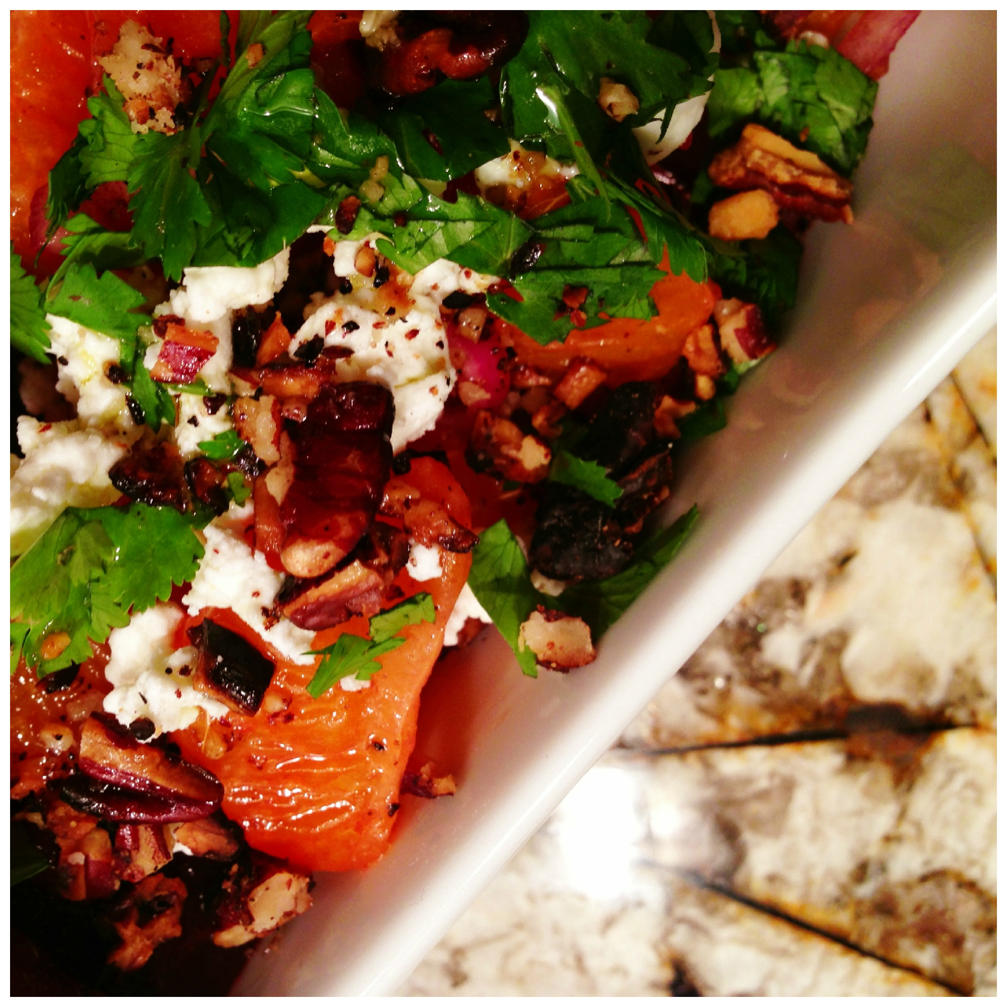 Tangy & Sweet Beet Salad - The Fiery Redhead Blog