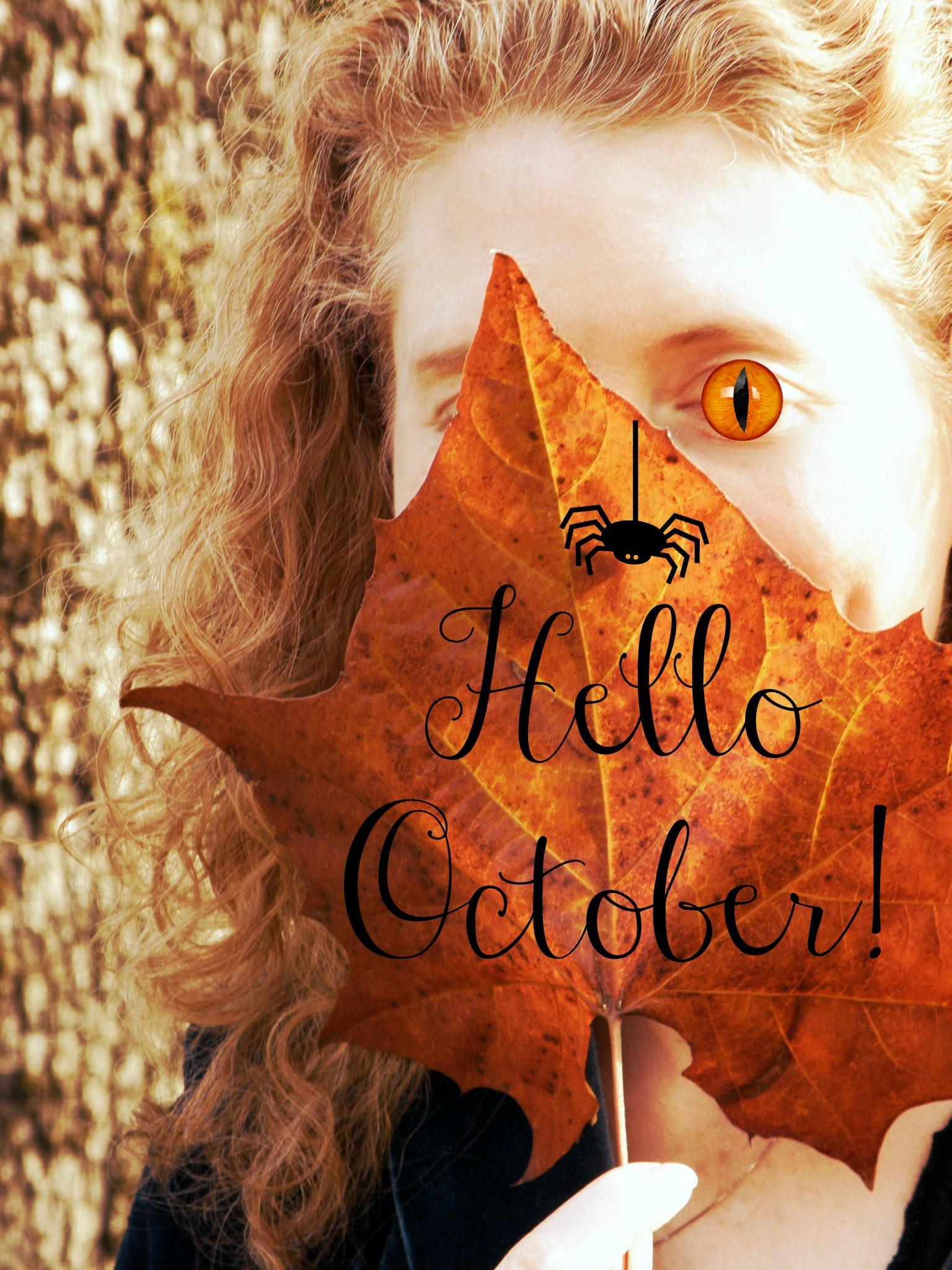 Hello October!   The Fiery Redhead Blog